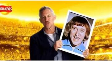 'unusual day' for gary lineker after #walkerswave campaign sees him 'pose' with jimmy savile