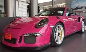 ruby star porsche 911 gt3 rs is reportedly the final pts model, lands in bangkok