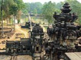 angkor wat is named the best landmark in the world