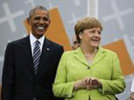 Barack Obama receives rock star welcome in Germany