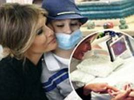 Boy found heart donor hours after Melania Trump visit