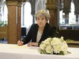 may at war with trump over manchester attack evidence leak