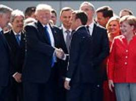 trump told france's new president macron 'you were my guy'