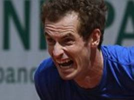 andy murray suffering another health scare in paris