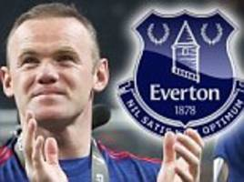 Man Utd news: Rooney has China offers but wants Everton