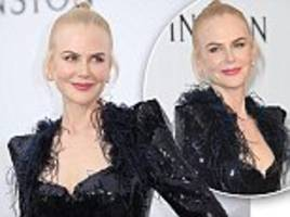 Nicole Kidman shows off her ageless complexion in Cannes