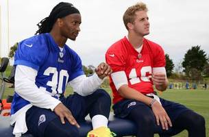 nfl on fox: gurley, goff have room to grow in 2017