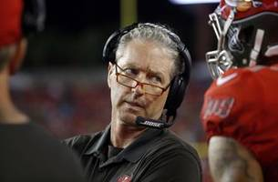 Bucs coach Dirk Koetter apologizes for 'unprofessional' Twitter jab at Falcons