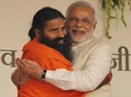 as modi and his hindu base rise, so too does a yoga tycoon