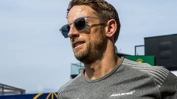 'a bit of a struggle to find my feet' - button on f1 return