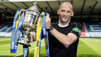 bobby madden: referee takes charge of scottish cup final after battle with cancer