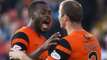 dundee united's wato kuate to exit tannadice after play-off bust-up