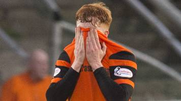 dundee utd 0-0 hamilton: murray second dive booking to be challenged