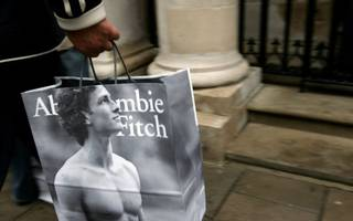 abercrombie & fitch has posted its fifth quarter of falling sales