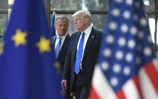 Donald Trump raises Brexit jobs fears at EU meeting in Brussels