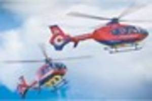 Motorcyclist airlifted to hospital after crash involving tractor...