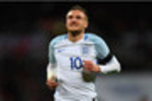 leicester city's jamie vardy named in england squad for scotland...