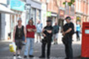 armed police patrol lincoln high street as officials warn more...