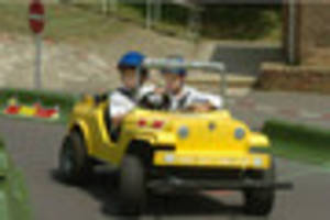 Visitors outraged after electric cars for kids stolen from...