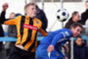 new signing nathan stainfield sets example after joining...
