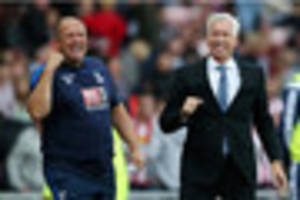 former crystal palace, west ham and newcastle united coach quits...