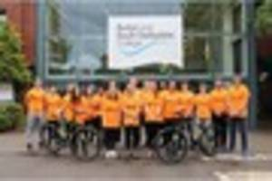 Burton and South Derbyshire College students take on Coast to...