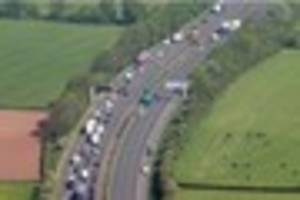 Five people who died in M6 crash in Staffordshire were Romanian