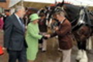 guide to the many times that the queen has visited the burton and...