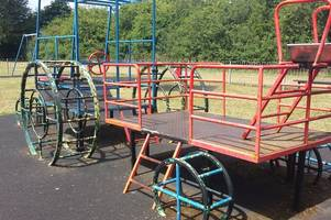 Parents win two year battle to get crumbling playpark up to scratch