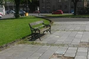 council to repair knoxland square after plea from concerned dumbarton resident