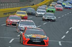 vht compound 'unchartered waters' at charlotte motor speedway