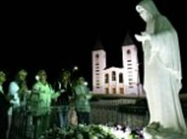 bosnian town defends its daily virgin mary sightings