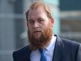 police officer 'bit man's lip in row about queue jumping'