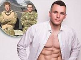 soldier who served with prince harry eyes mr england title