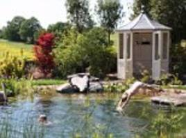 Swimming pools are passé... dig a garden pond instead