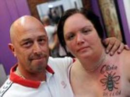manchester victim olivia campbell's mother gets tattoo