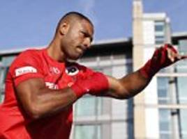 Kell Brook says making 'the weight is always tough...'