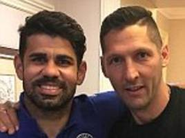 materazzi shares snap with fellow 'bad boy' diego costa