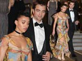 FKA twigs and Robert Pattinson at Good Time screening
