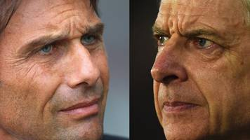FA Cup final: Arsene Wenger one of the game's greats - Antonio Conte