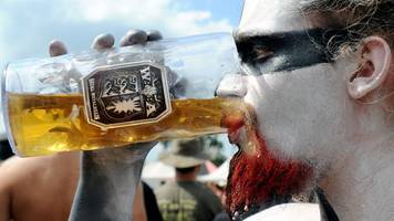 Germany's Wacken hard rock festival gets beer pipeline