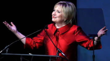 hillary clinton: the right is afraid of me because i don't die