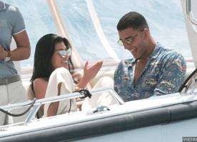 kourtney kardashian bares butt and sideboob in another yacht date with younes bendjima