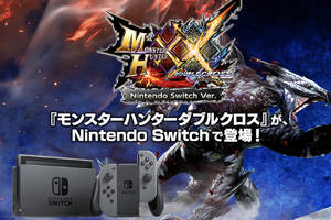 Capcom's Monster Hunter series is coming to Nintendo Switch