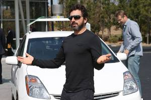 Sergey Brin is building the world's biggest aircraft for humanitarian missions and family trips