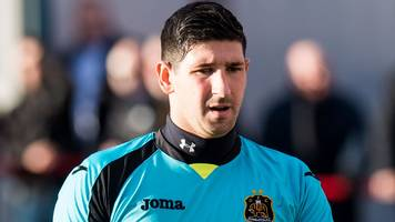 queen of the south sign keeper alan martin from dumbarton despite english interest