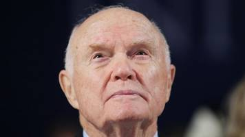 were john glenn's remains disrespected in an air force mortuary?