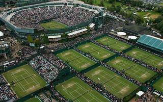 fire breaks out at wimbledon's all england tennis club