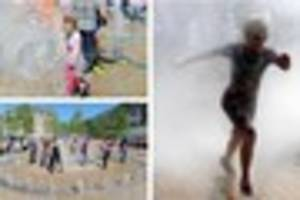 lindy hoppers delight crowds as hull's dancing fountains...