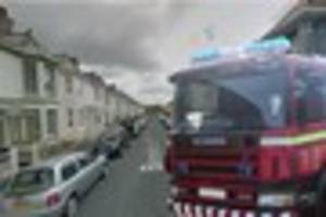 Two fire crews scrambled to Stoke after neighbour spotted smoke